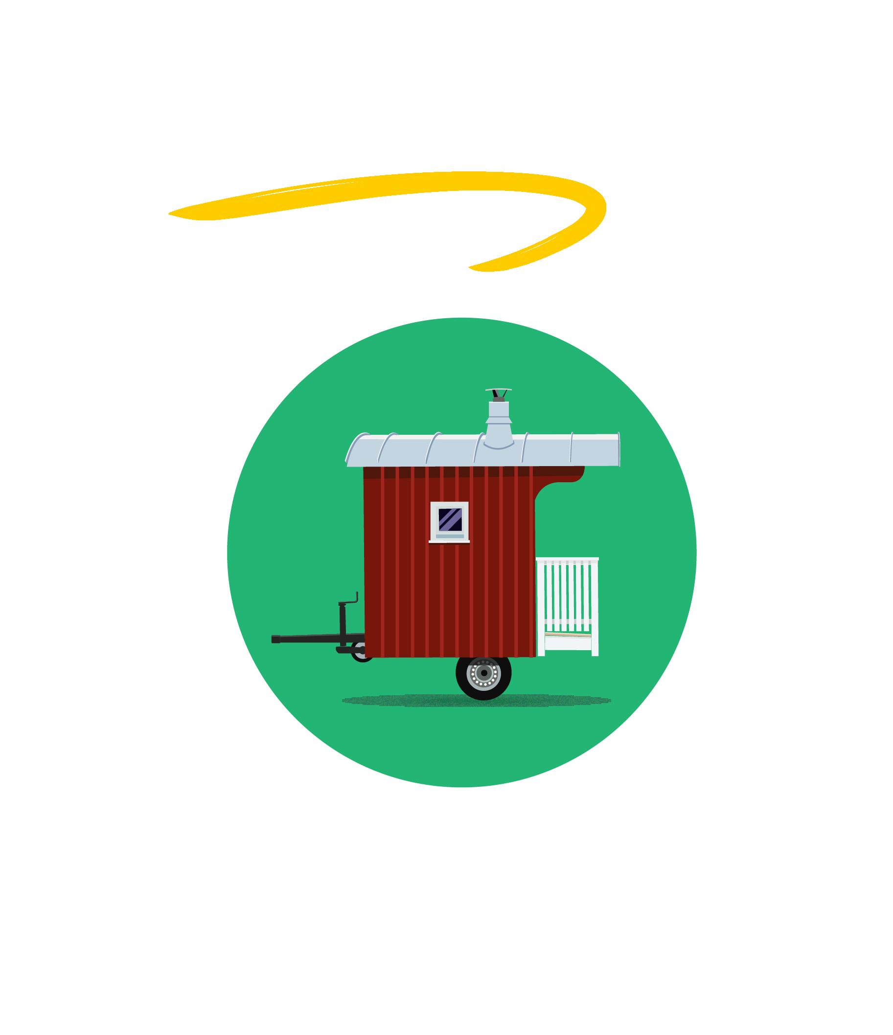 Saunawagen Logo